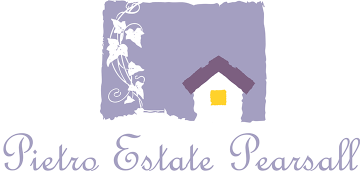 Estate Logo - Pietro Estate, Pearsall - Origin Projects